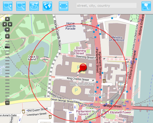 geofence-in-london