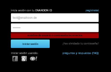 ENAiKOON iD: ¿Está bloqueada su cuenta de usuario?