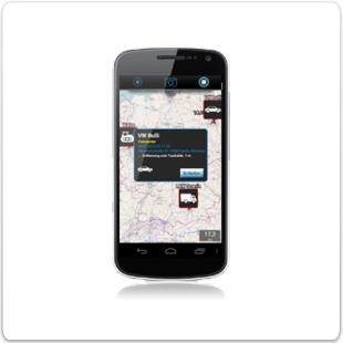 Android App inViu routes bietet immer den perfekten Überblick