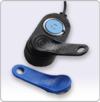 ENAiKOON driver-id reader is used to identify an employee using an iButton.