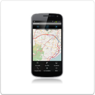start tracking routes with the field service app inViu routes
