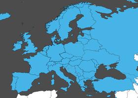 les pays qu'ENAiKOON SIM-card couvre en Europe