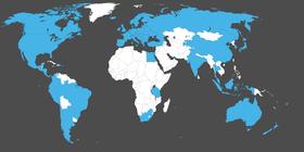 Les pays qu'ENAiKOON SIM couvre à travers le monde