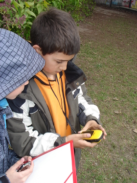 Cartographie avec les élèves du primaire appuyée par ENAiKOON