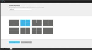 inViu web - définir les espaces de travail pour différentes applications