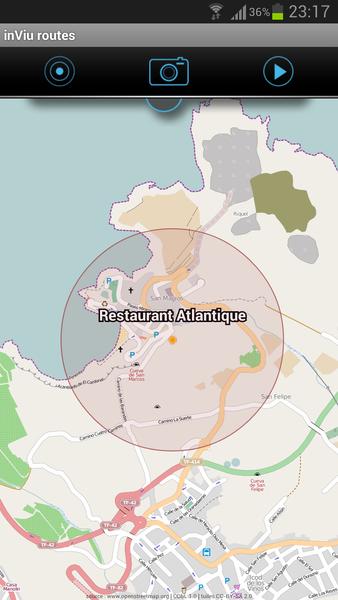 Géo note sur une carte